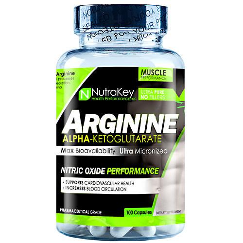 Arginine, 100 Capsules, 100 Capsules