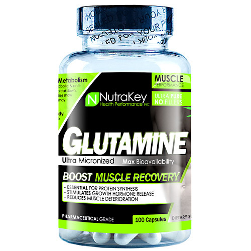 L-glutamine, 100 Capsules, 100 Capsules