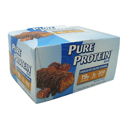Pure Protein Bar, Chocolate Salted Caramel, 6 bars