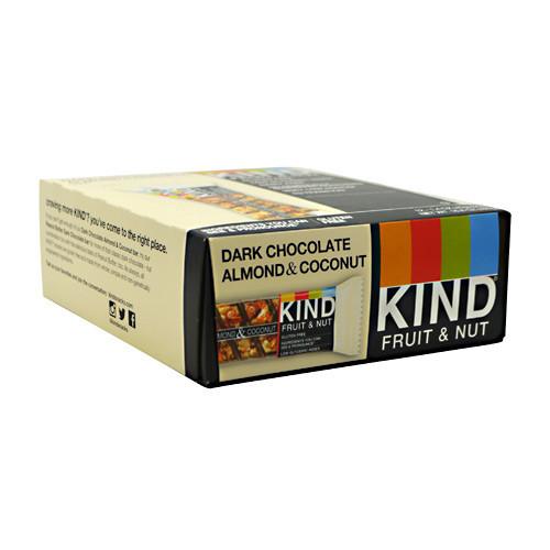Kind Fruit & Nut, Dark Chocolate Almond & Coconut, 12 - 40g/1.4 oz bars [480g (16.8 oz)]