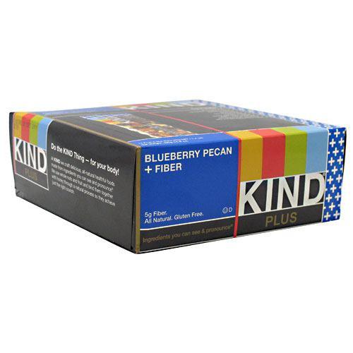 Kind Plus, Blueberry Pecan + Fiber, 12 - 40g/1.4 oz bars [480g (16.8 oz)]