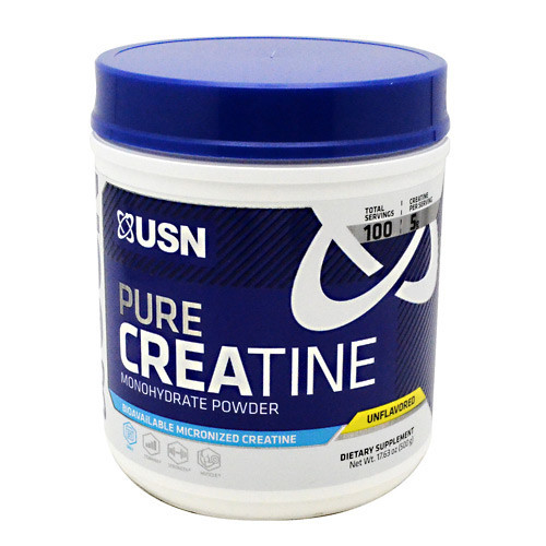 Pure Creatine, Unflavored, 100 Servings