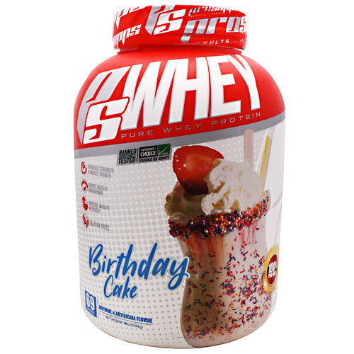 Ps Whey, Birthday Cake, 5 lbs
