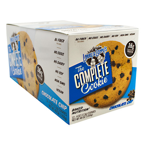All-natural Complete Cookie, Chocolate Chip, 12 per Box - 4 Oz (113 g)