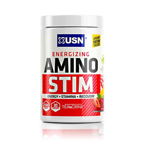Amino Stim, Fruit Punch, 30 Servings