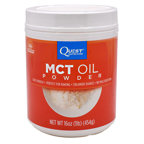 Mct Oil Powder, Unflavored, 16oz (1lb)(454g)