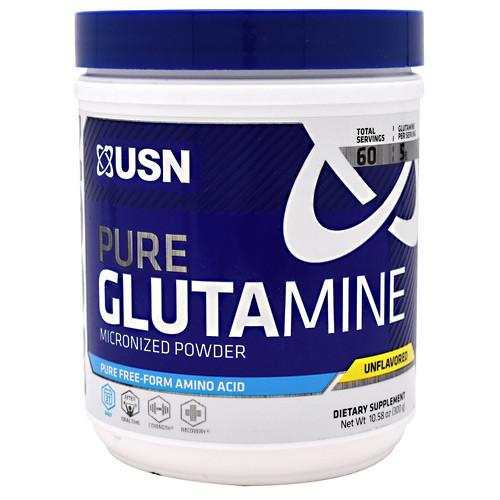 Pure Glutamine, Unflavored, 60 Servings