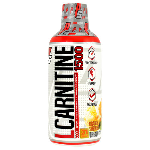 L-carnitine 1500, Orange Sherbet, 16 fl oz (473 ml)