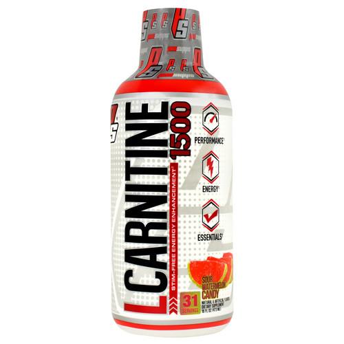 L-carnitine 1500, Sour Watermelon Candy, 16 fl oz (473 ml)