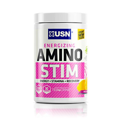 Amino Stim, Pink Lemonade, 30 Servings
