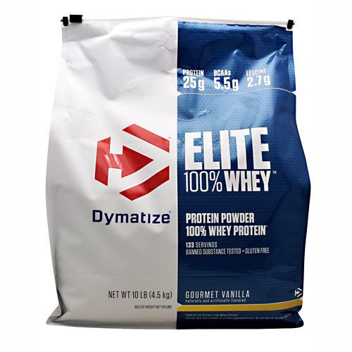 Elite 100% Whey, Gourmet Vanilla, 10 lb (4.5 kg)