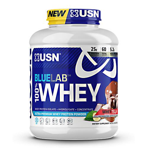 Blue Lab 100% Whey, Wheytella, 4.5 LBS