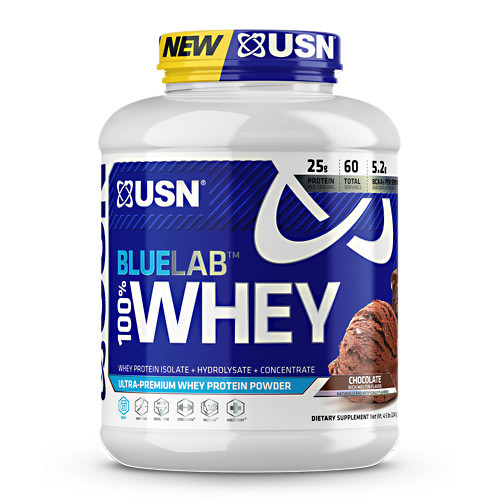 Blue Lab 100% Whey, Molten Chocolate, 4.5 LBS