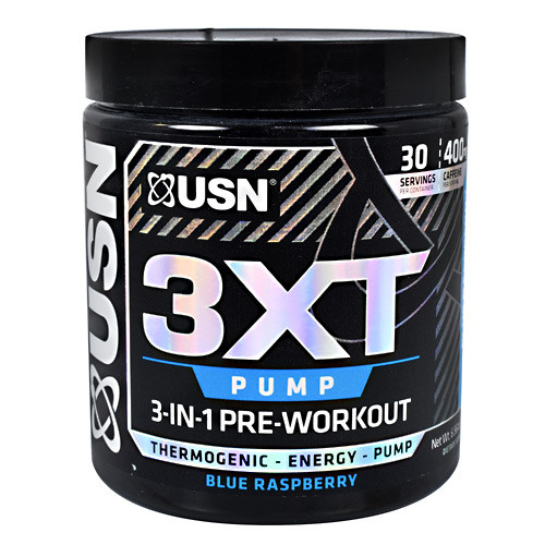3xt Pump, Blue Raspberry, 30 Servings