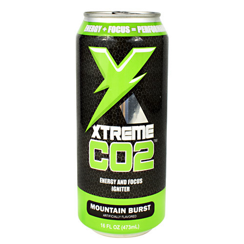 Xtreme Co2, Mountain Burst, 12 (16 fl oz) Cans