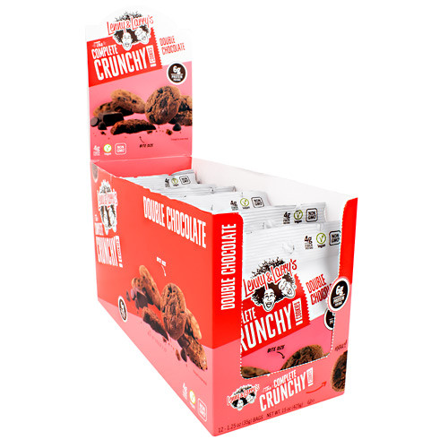 The Complete Crunchy Cookies, Double Chocolate, 12 (1.25 oz) Bags