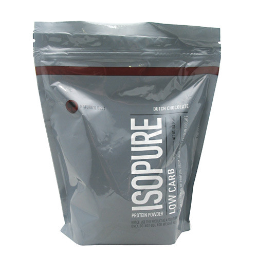 Low Carb Isopure, Dutch Chocolate, 1 lb (454 g)