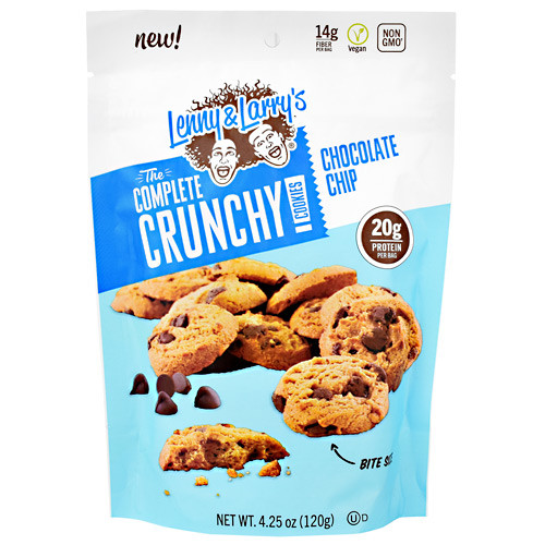 The Complete Crunchy Cookies, Chocolate Chip, 4.25 oz. (120g)