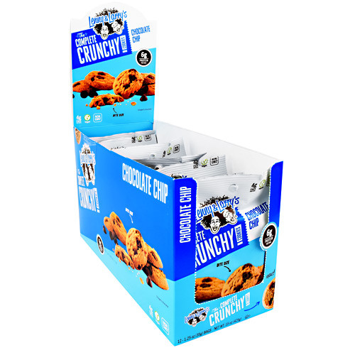 The Complete Crunchy Cookies, Chocolate Chip, 12 (1.25 oz) Bags