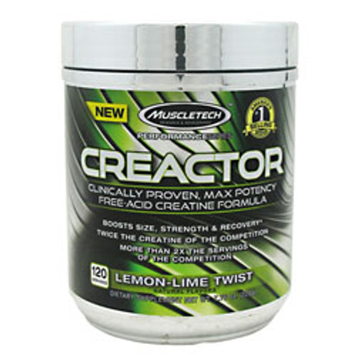 Creactor, Lemon-lime Twist, 120 Servings