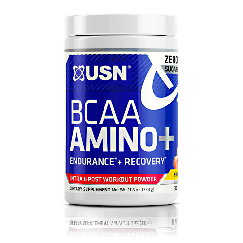 Bcaa Amino +, Fruit Punch, 30 Servings