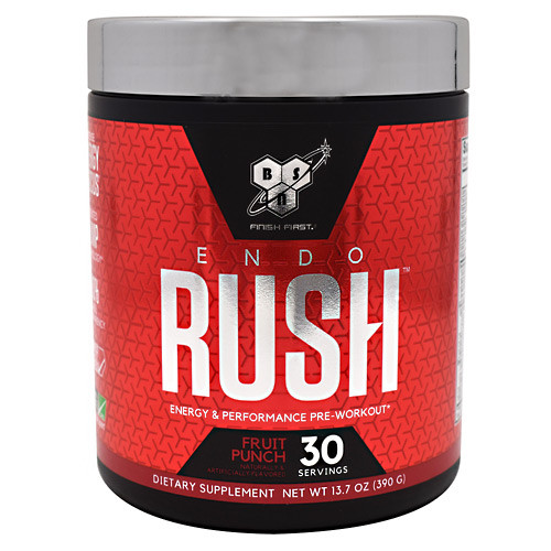 Endorush, Fruit Punch, 30 Servings