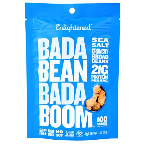 Bada Bean Bada Boom, Sea Salt, 6 (3oz) Bags