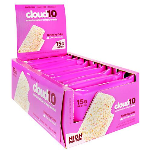 Marshmallow Crispy Treats, Birthday Cake, 10 (2.65oz.) Squares