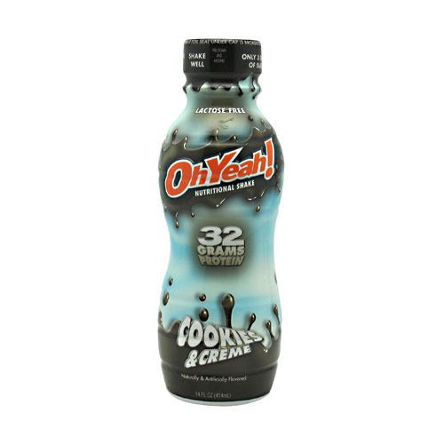 Protein Shake Rtd, Cookies & Creme, 12 - 14 oz (414 mL) Bottles