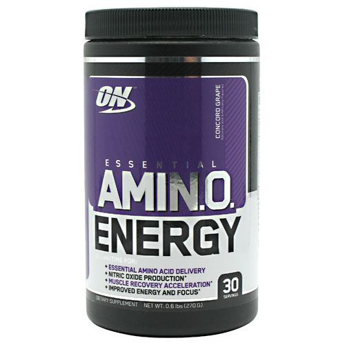 Essential Amino Energy, Concord Grape, 30 Servings