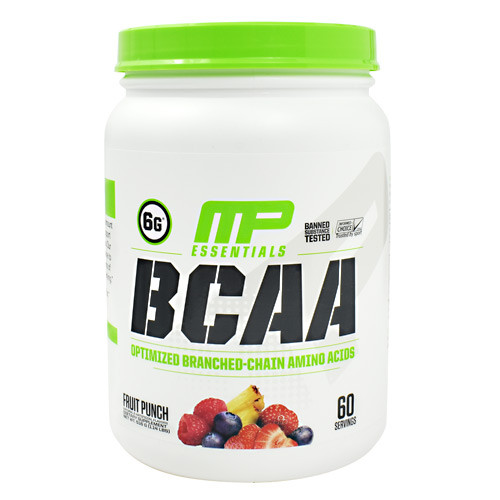 Bcaa, 60 Servings, Fruit Punch, 60 Servings (516g)