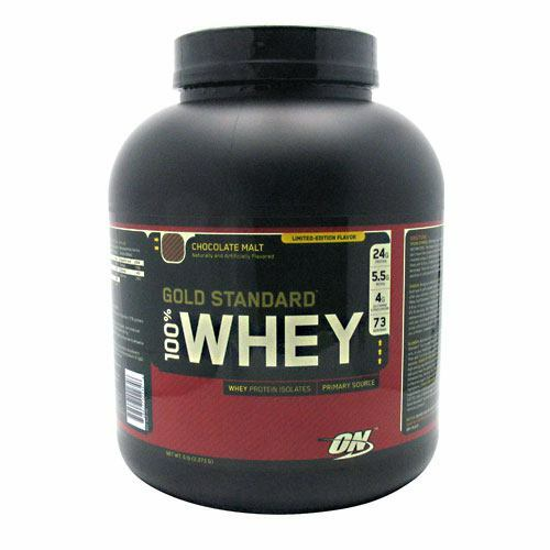 100% Whey, Chocolate Malt, 5 lb (2,273 g)
