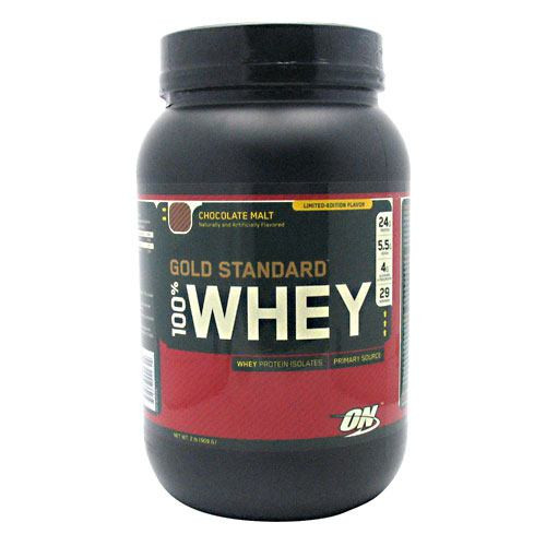 100% Whey, Chocolate Malt, 2 lb (909 g)