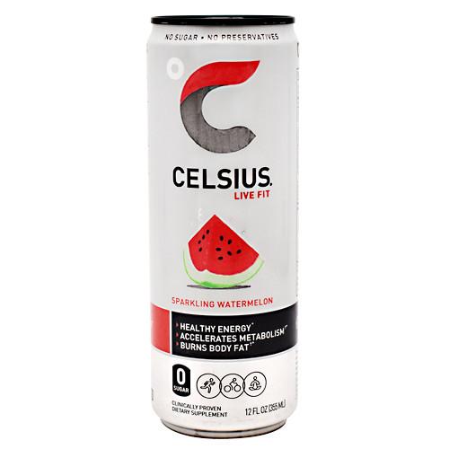 Celsius, Sparkling Watermelon, 12 - 12 fl oz (355mL) Cans