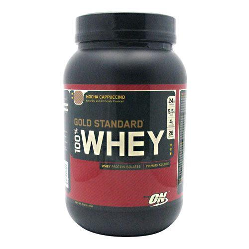 100% Whey, Mocha Cappuccino, 2 lb (912 g)