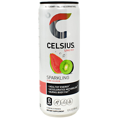 Celsius, Sparkling Kiwi Guava, 12 - 12 fl oz  Cans