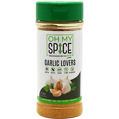 Oh My Spice, Garlic Lovers, 5 OZ (141G)