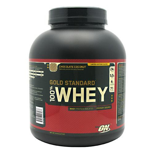 100% Whey, Chocolate Coconut, 5 lb (2,273 g)