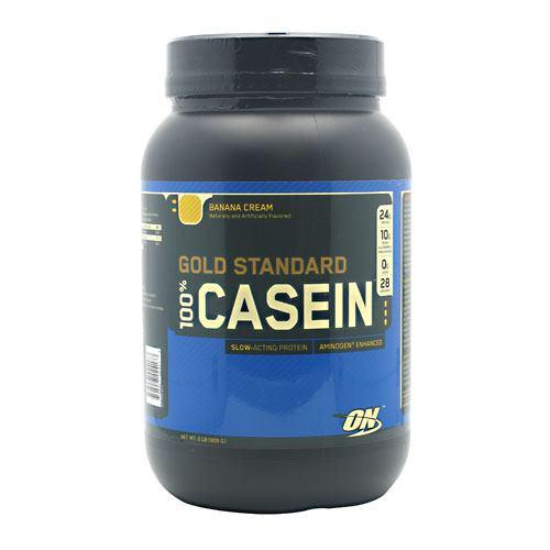 100% Casein, Banana Cream, 2 lb (909 g)