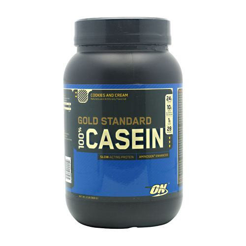 100% Casein, Cookies And Cream, 2 lb (909 g)