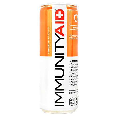 Immunityaid, Orange Boost, 12 (12 fl oz) Cans