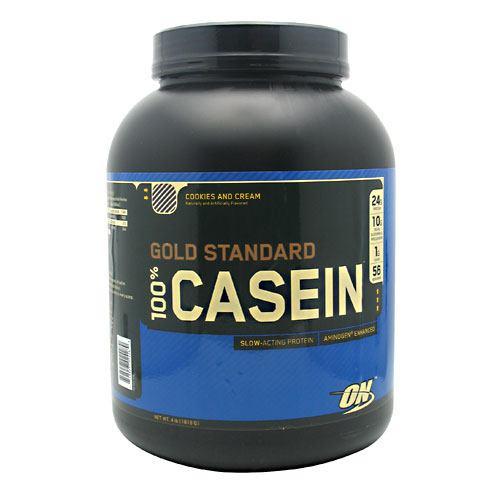 100% Casein, Cookies And Cream, 4 lb (1818 g)