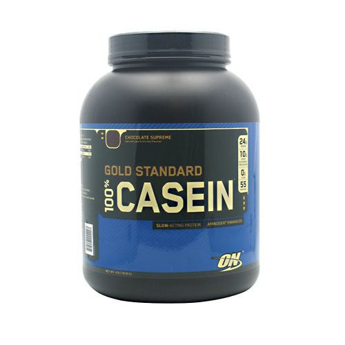 100% Casein, Chocolate Supreme, 4 lb (1818 g)