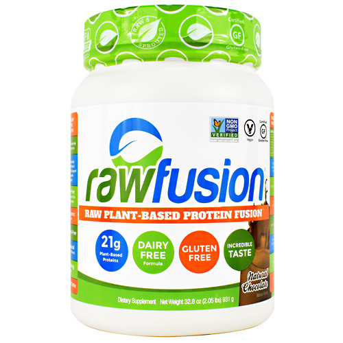 Raw Fusion, Natural Chocolate, 30 Servings