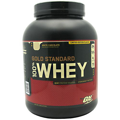100% Whey, White Chocolate, 5 lb (2,273 G)