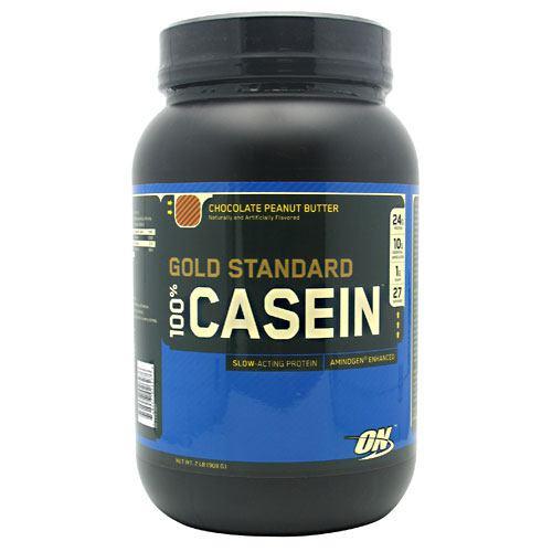 100% Casein, Chocolate Peanut Butter, 2 lb (909 g)