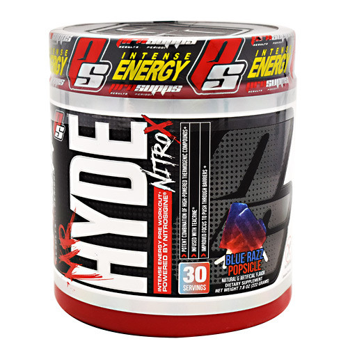 Mr. Hyde Nitro X, Blue Razz Popsicle, 30 Servings