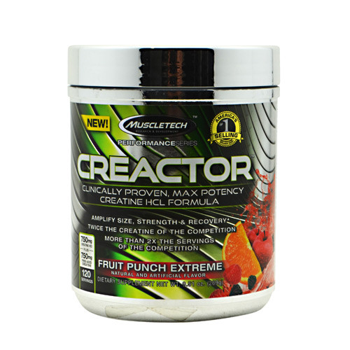 Creactor, Fruit Punch Extreme, 120 Servings