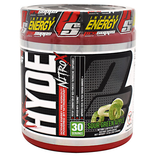 Mr. Hyde Nitro X, Sour Green Apple, 30 Servings
