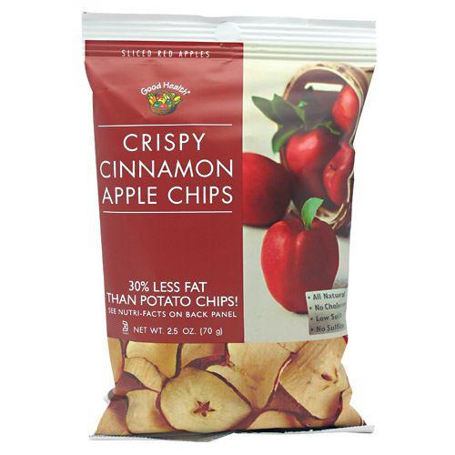 Apple Chips, Crispy Cinnamon, 12- 2.5 oz (70g)